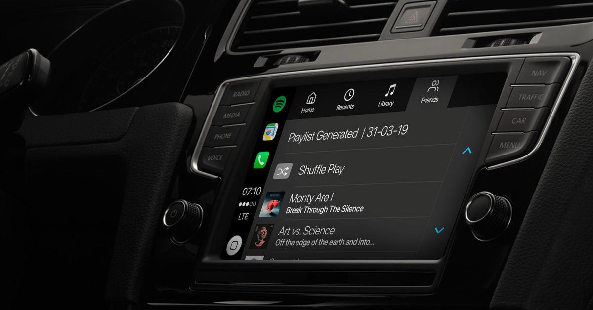photo of Spotify begins beta testing new endless playlist feature for CarPlay app image