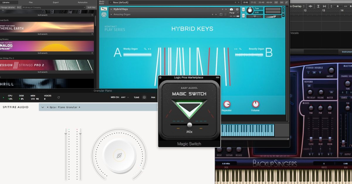 photo of Logic Pros Marketplace: New, discounted, and FREE creative tools to fuel your recording rig image