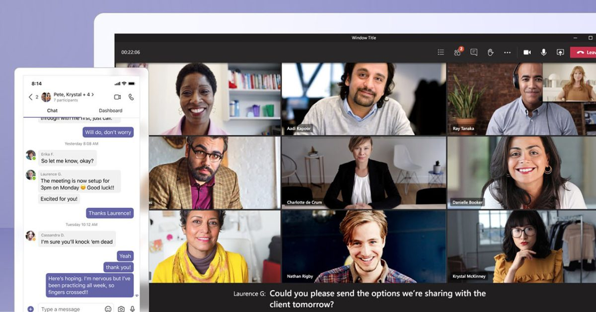 Microsoft Teams for macOS now supports system audio sharing;  native notifications are coming