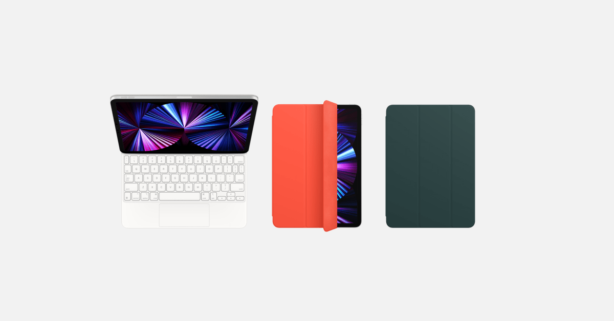 photo of iPad Smart Folios and Smart Covers refreshed with two new Spring colors image