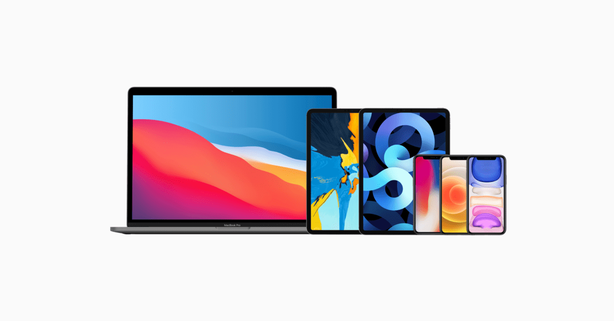 photo of Apple's event artwork usually only hints at one thing: wallpapers for new devices image