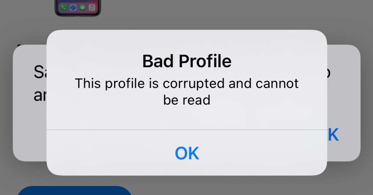 photo of Corrupt iOS profiles preventing developers from downloading the latest beta image