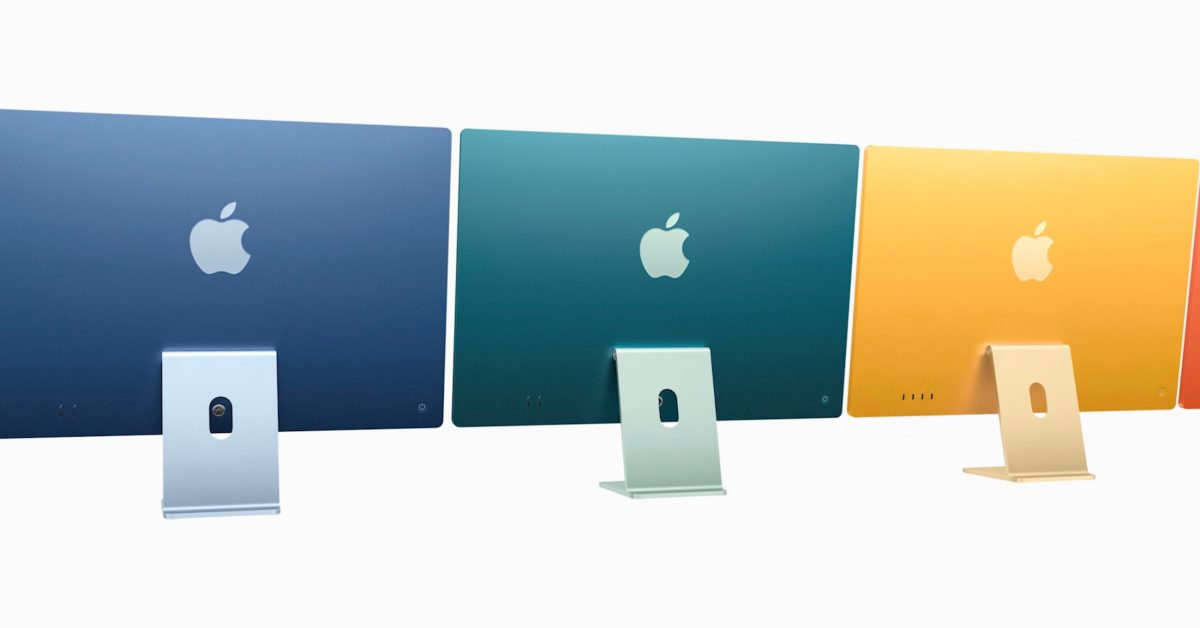 photo of M1 iMac Tidbits: Storage up to 2TB, RAM up to 16GB, base model trade-offs, Touch ID keyboard image