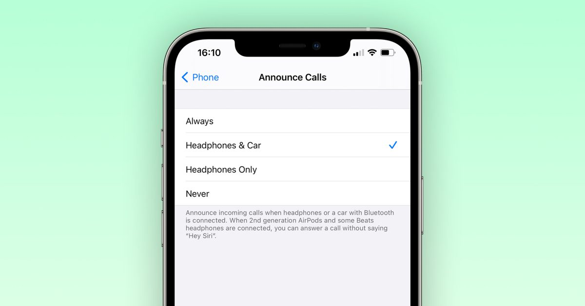 photo of iOS 14.5 lets users answer calls with Siri when using headphones image