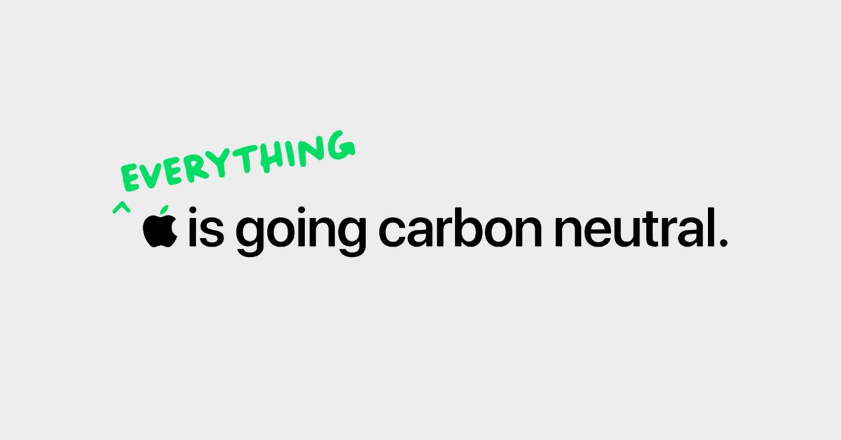 photo of Apple touts its 2030 carbon neutral goal in new Earth Day video image