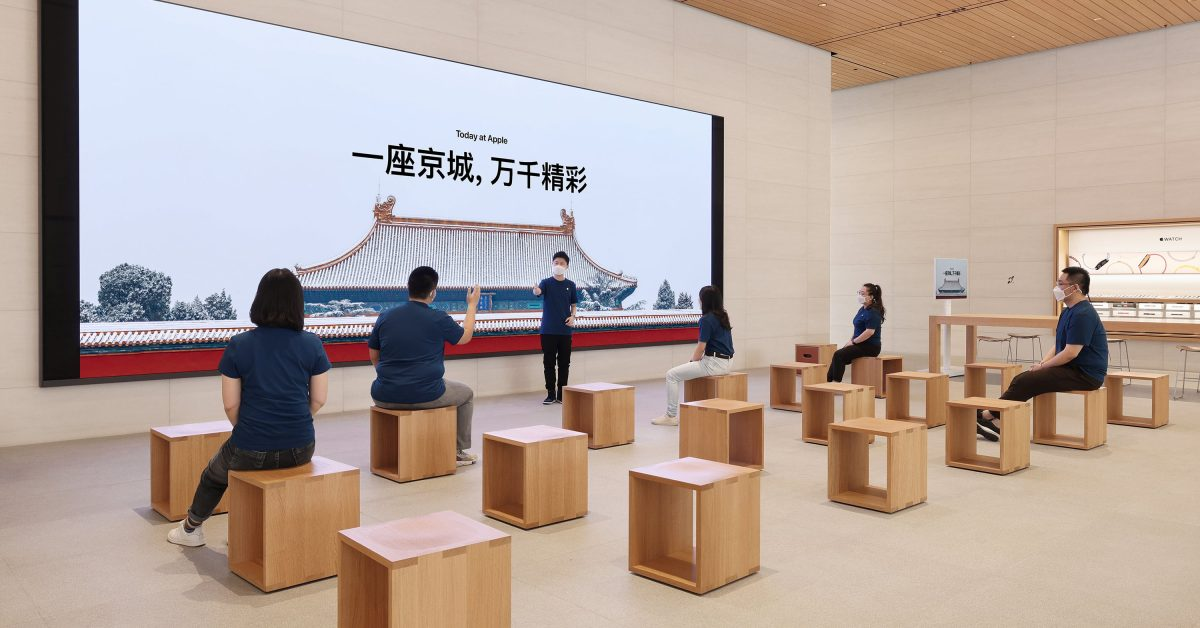 Beijing welcomes in-store Today at Apple sessions hosted by local creators
