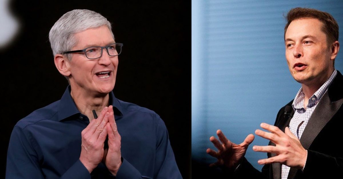 Elon Musk wanted to be Apple CEO, but Tim Cook dropped an F bomb on that idea