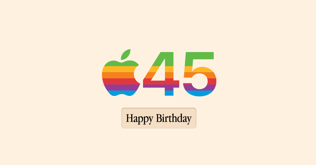 photo of On Apple's 45th birthday, here are some of the most memorable moments in the company's history image