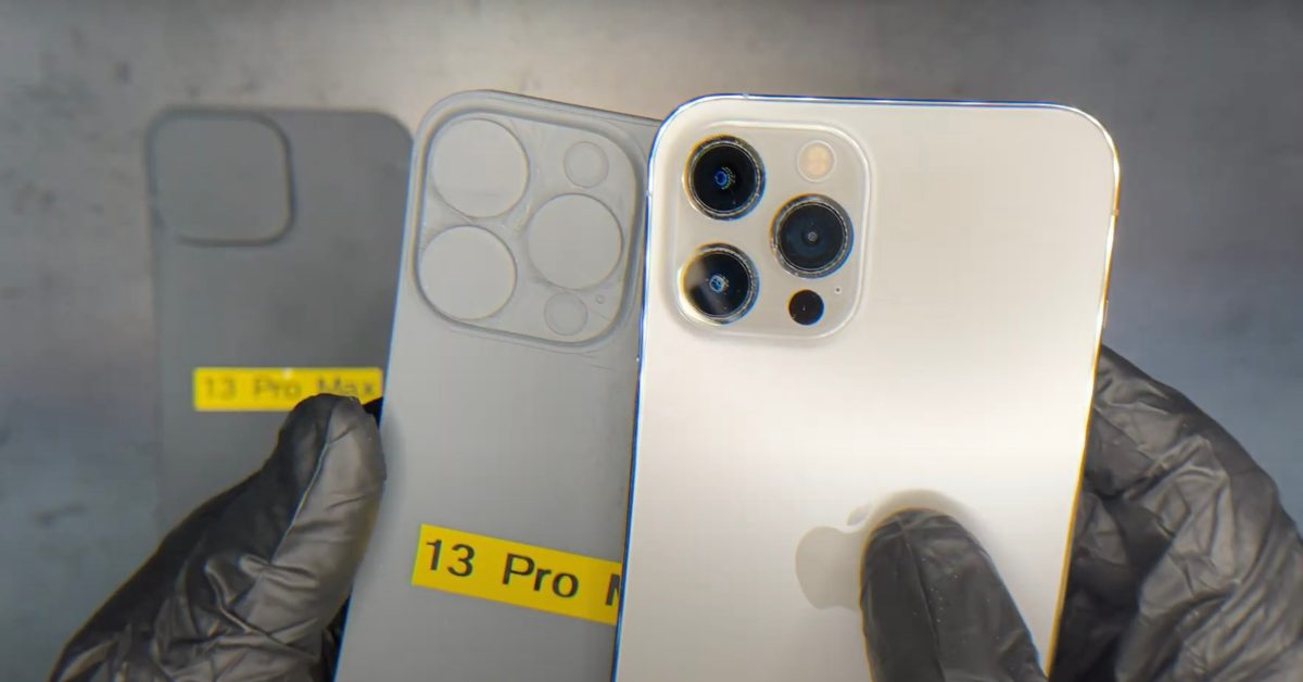 Leaked schematics show significantly larger camera lenses on iPhone 13 Pro Max – 9to5Mac