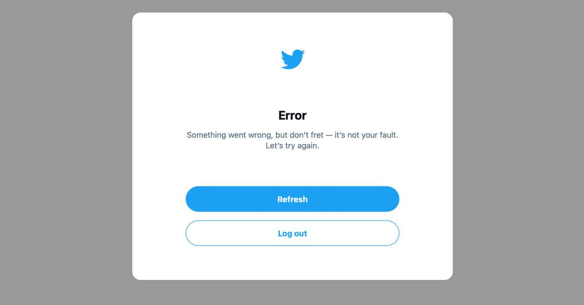 Twitter facing its second partial outage in 24 hours