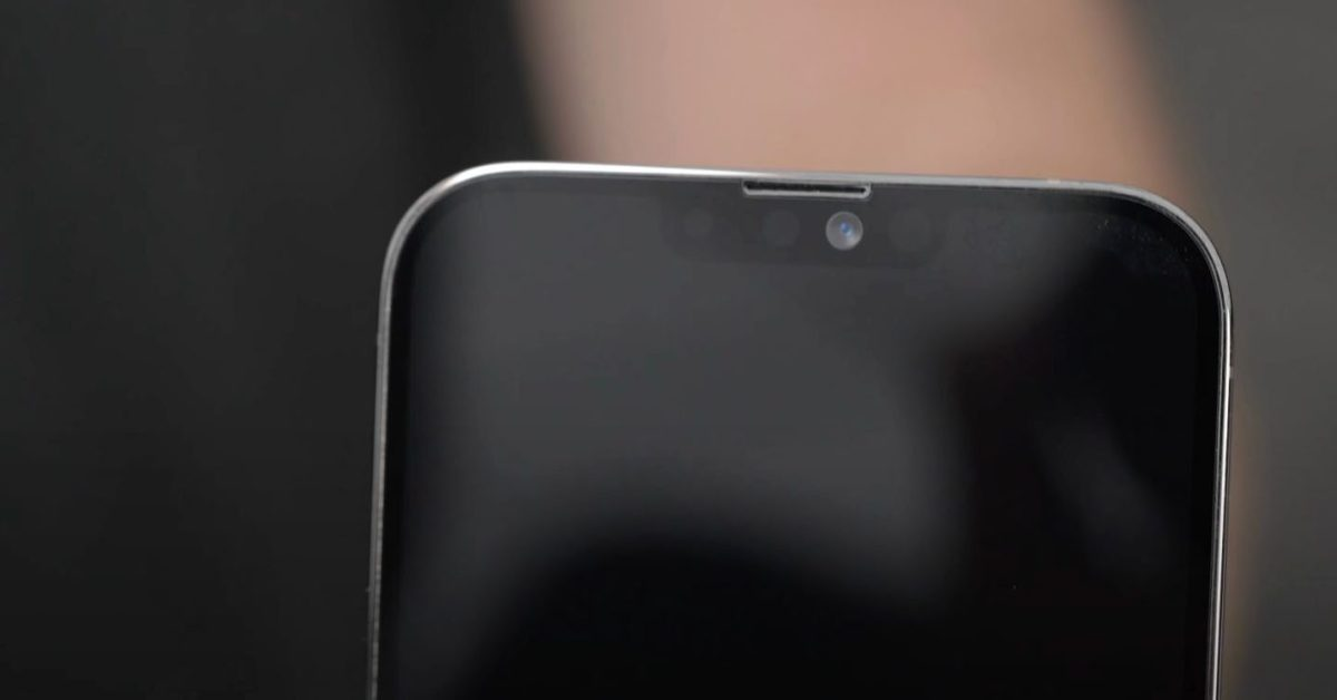 photo of Half-size Face ID chip part of secret to smaller notch expected in iPhone 13 image
