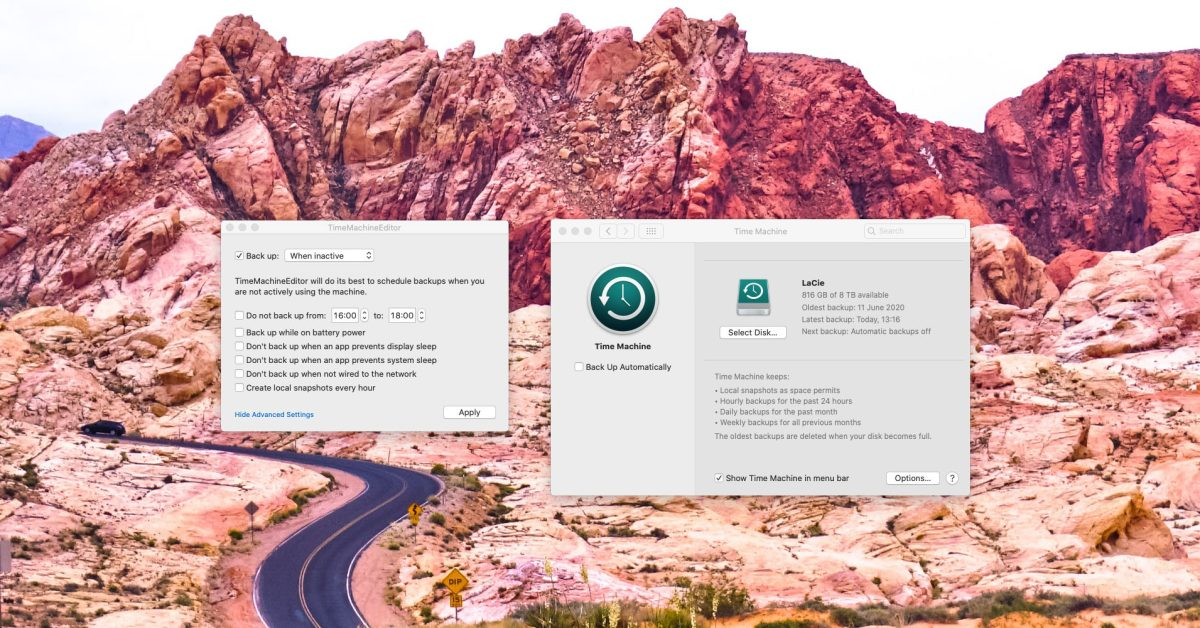 photo of Tested: TimeMachineEditor, a more flexible way to schedule Mac backups image