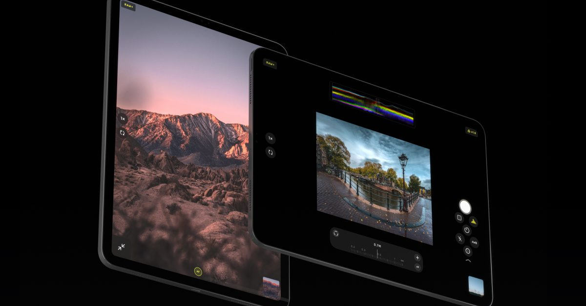 photo of Halide camera app leaps from iPhone to iPad with new Pro View, custom UI, more image