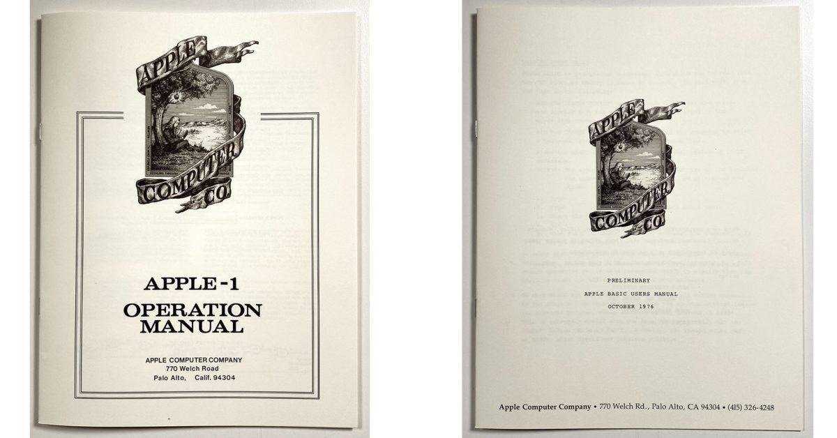 Obsessive Apple fan creates perfect reproductions of Apple I manuals