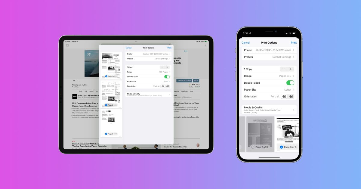 photo of iOS 15 tidbits: AirPrint overhaul, live locations in Find My, more image