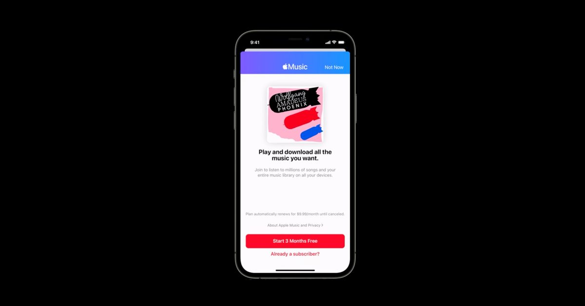 photo of Apple's new MusicKit API lets developers offer Apple Music trials, and rewards them with a payout image