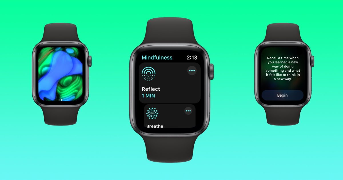 photo of Hands-on: Here's how the new Mindfulness app and Reflect work in watchOS 8 image