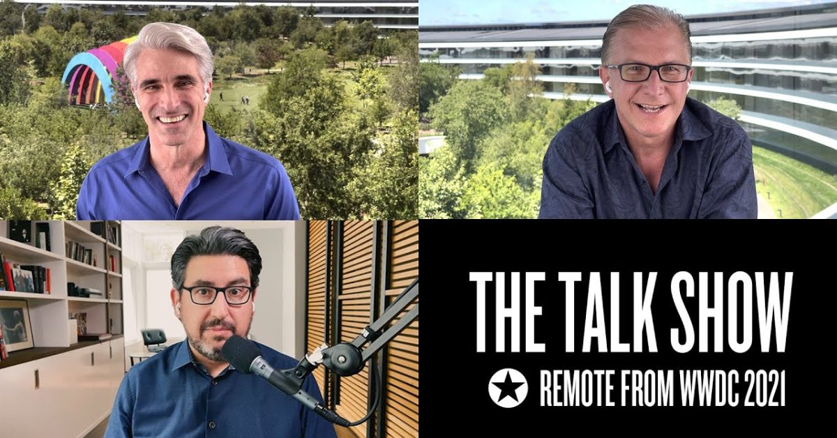 Craig Federighi and Greg Joswiak join 'The Talk Show' to discuss WWDC21, iPadOS 15, more - 9to5Mac