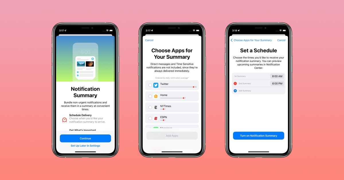 Hands-on: How to set up the new notification summary feature in iOS 15 - 9to5Mac