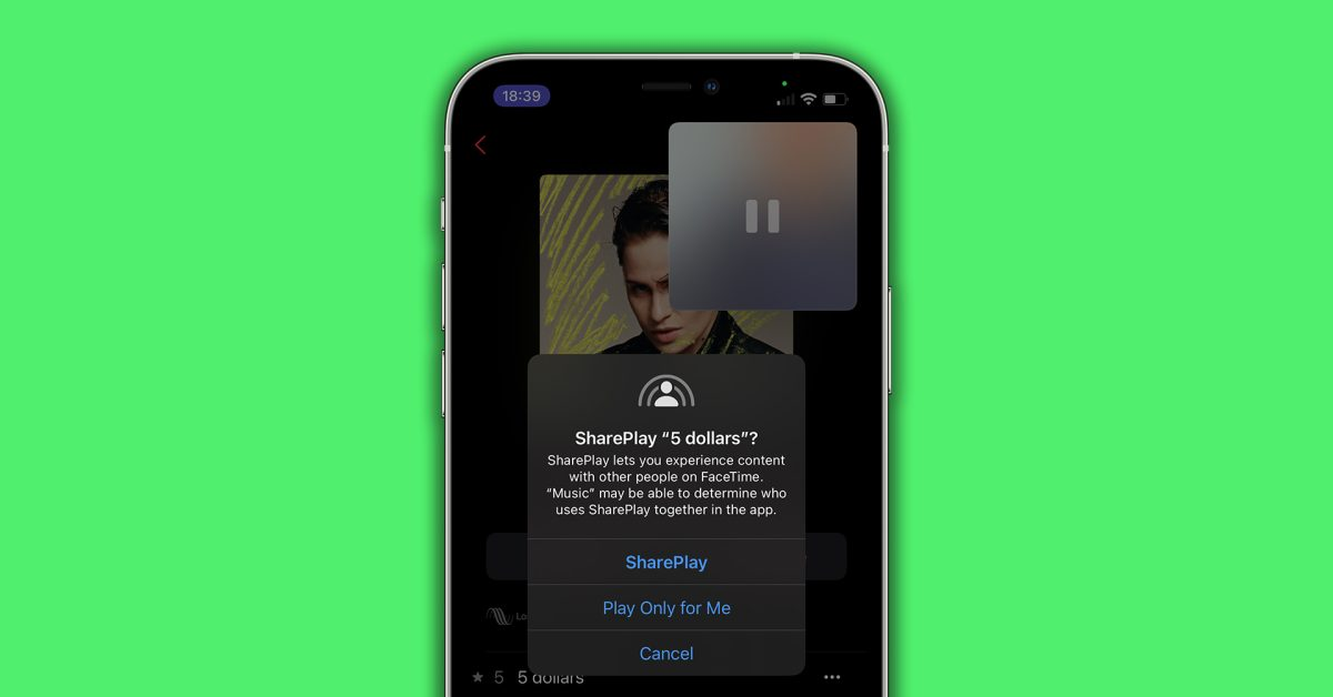 iOS 15 will let you share your screen over FaceTime, but the feature isn't live yet