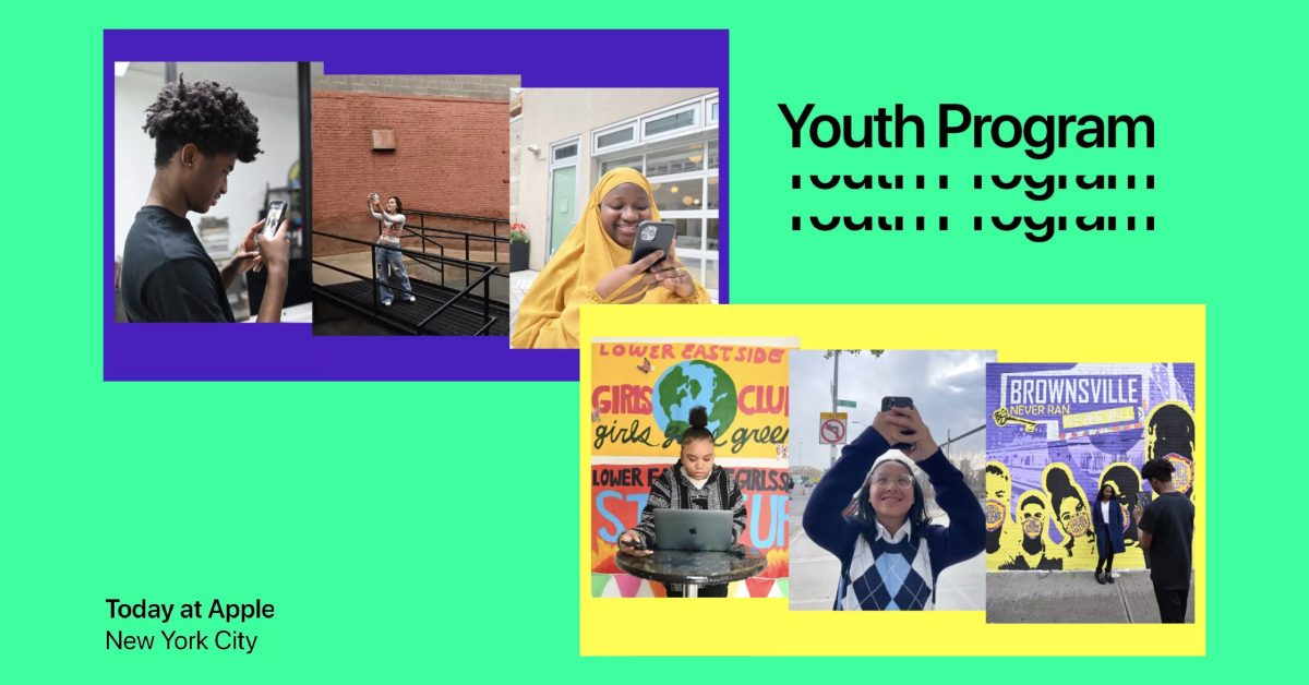 Today at Apple Youth Program sparks the creative energy of New York City artists - 9to5Mac