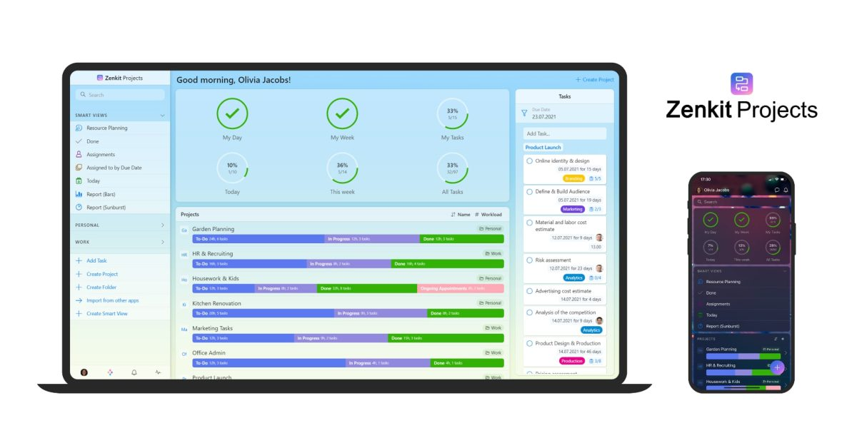 Zenkit debuts 'Projects' – a new task management tool for enterprise customers