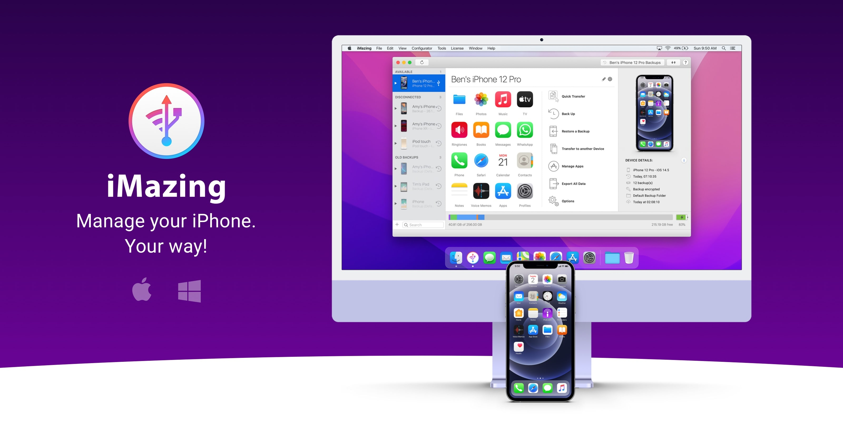 Save 30% on iMazing: the all-in-one app for iOS device management and data transfer