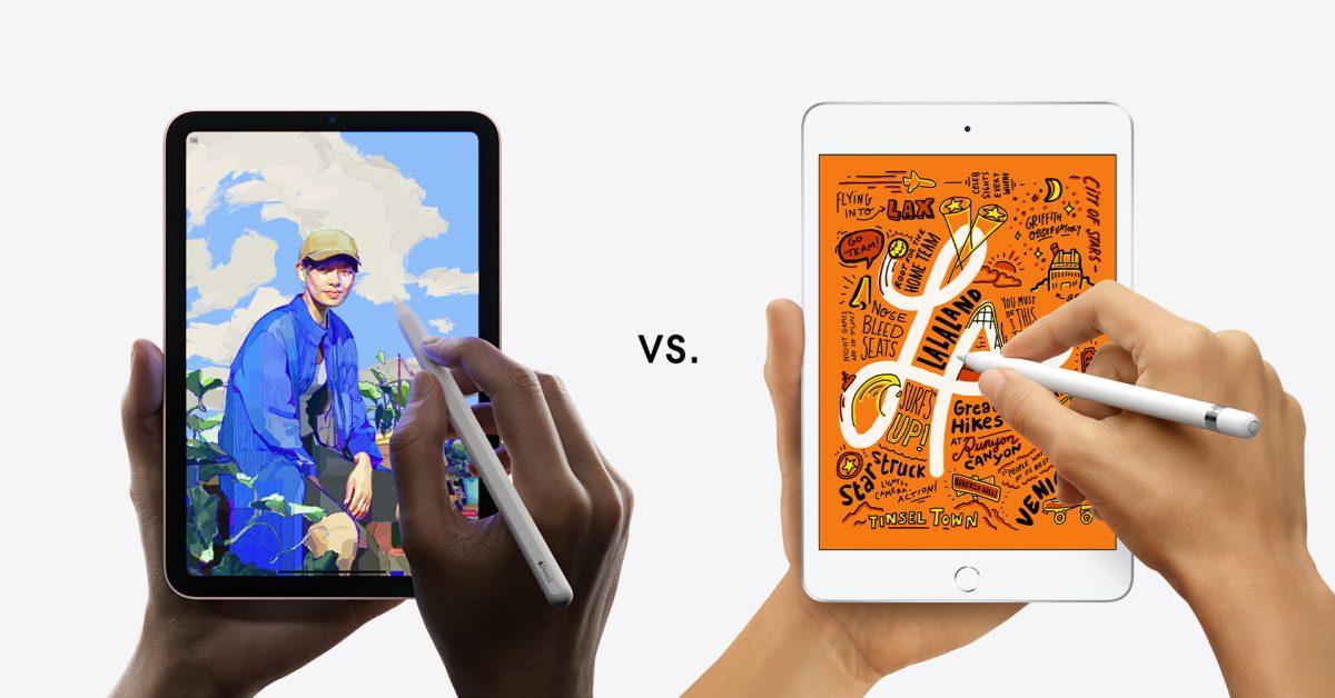 Here's how the new iPad mini compares to the iPad mini 5 and iPad Air