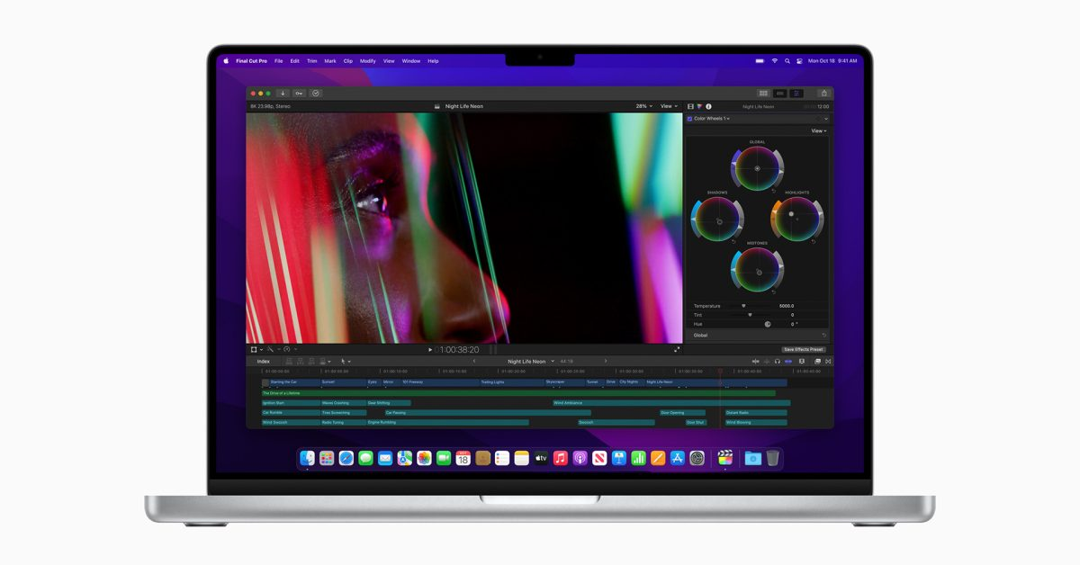 Developers can choose to take advantage of the notch area on new MacBook Pro
