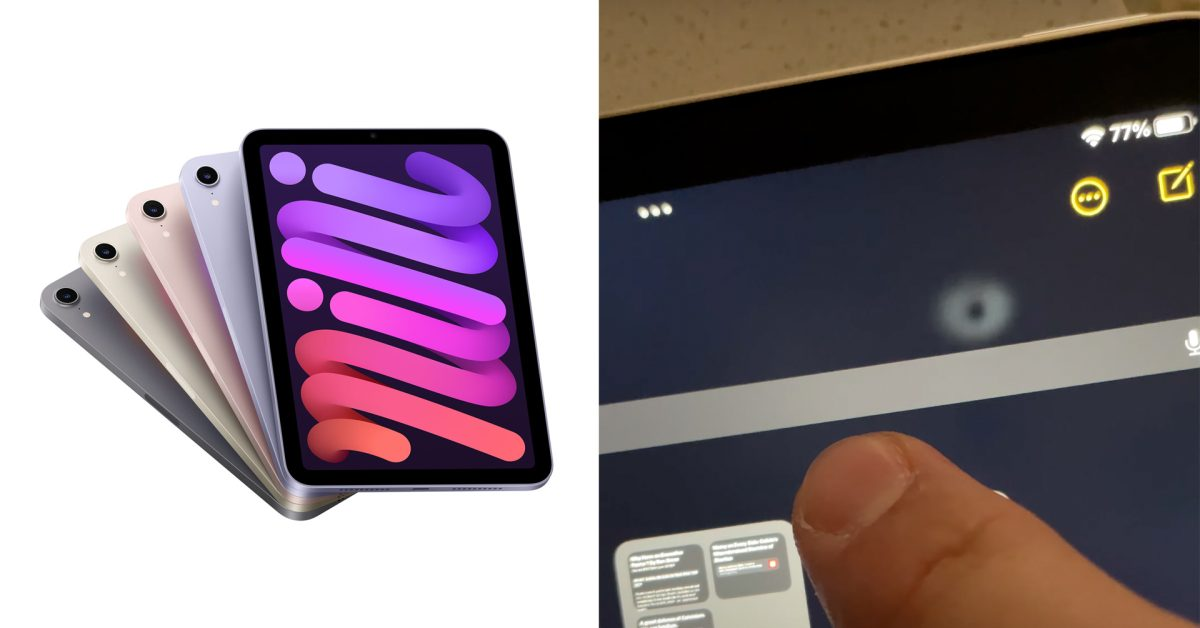 iPad mini 6 users complain about LCD discoloration and distortion issues thumbnail