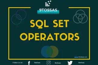 SQL SET Opertors