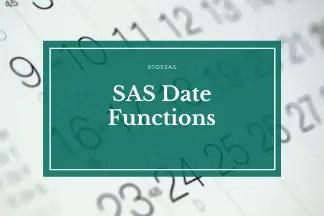 date functions in sas