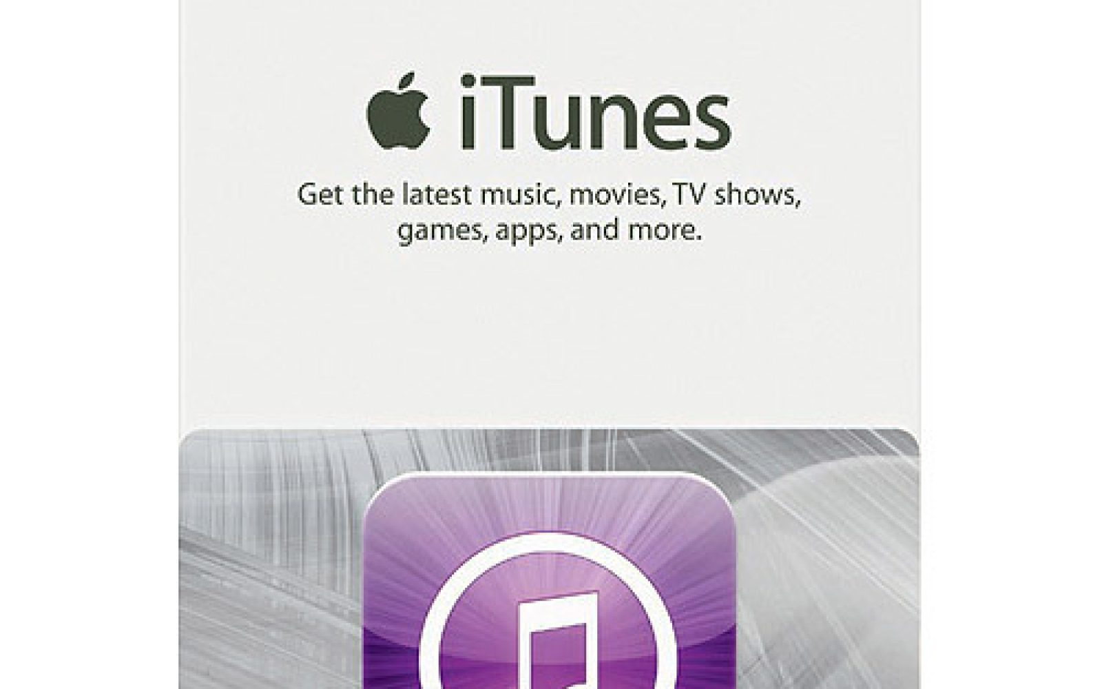 $100 iTunes gift card for $85: Save 15% on future app, music