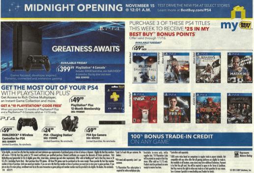 Best Buy-Next Gen-PS4-Xbox One-launch week-01