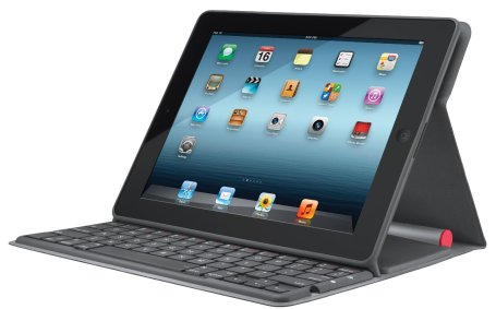 Logitech Solar Bluetooth Keyboard Folio Case-stand-iPad 2, 3, 4-refurb-sale-01