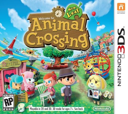 Animal Crossing- New Leaf-3DS-sale