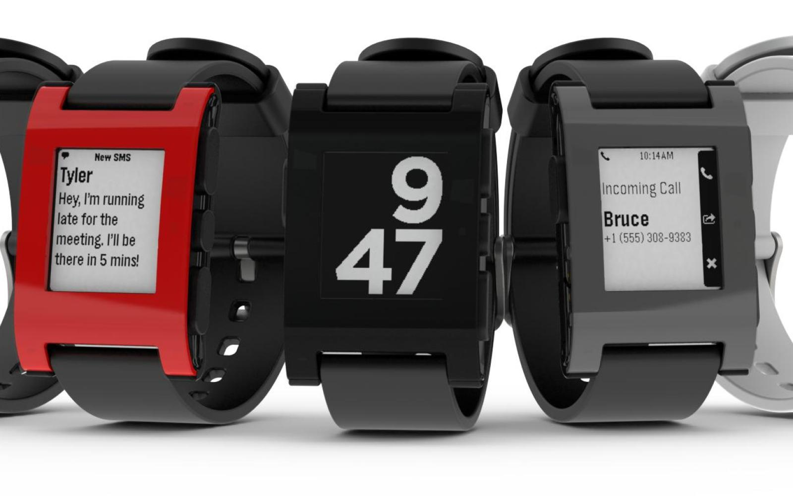 Pebble Smartwatch in Red or Black: $90 shipped ($60 off) with .edu email ($120w/o)