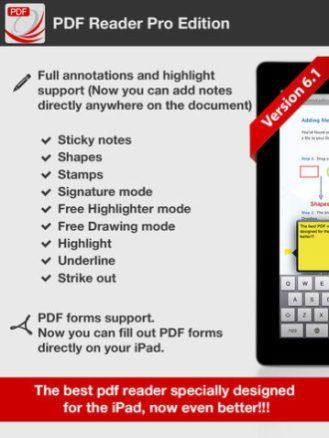 PDF Reader Pro Edition for iPad-01