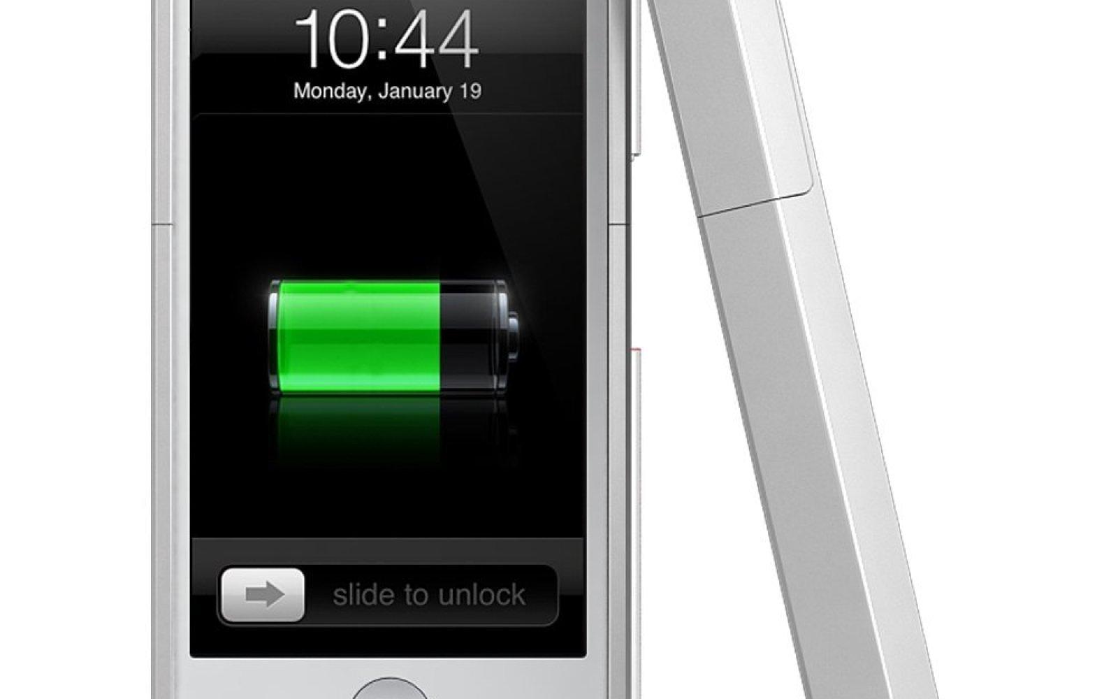 uNu DX iPhone 5/5s 2300mAh MFi Protective Battery Case (white): $50 shipped (Reg. $90)