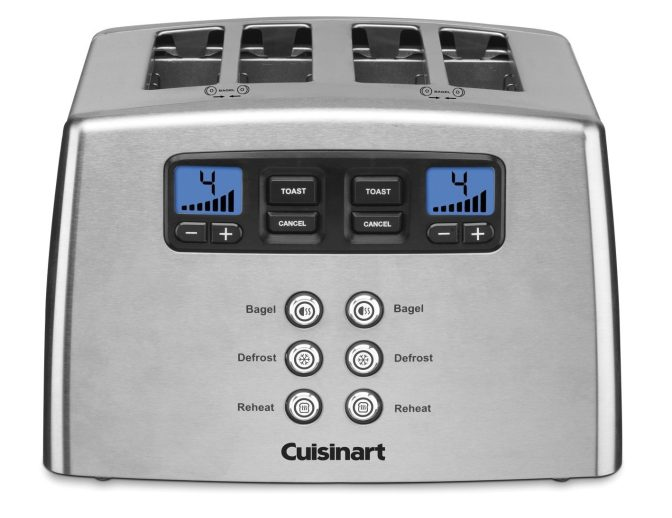 Cuisinart Touch to Toast Leverless 4-Slice Toaster-sale-01