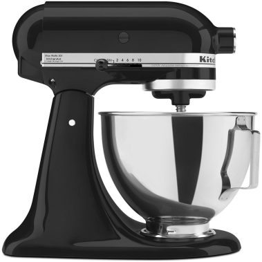 KitchenAid KSM85PBOB 4.5-Quart Tilt-Head Stand Mixer Onyx Black-sale-01