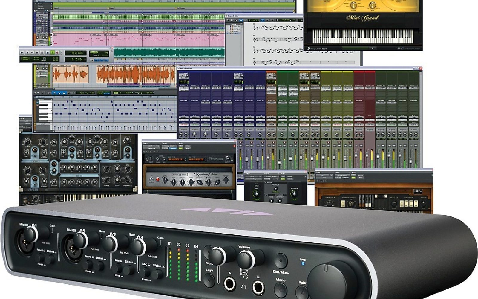 pro tools 11 mbox pro interface 760 shipped 240 off pro tools krk recording suite package. Black Bedroom Furniture Sets. Home Design Ideas