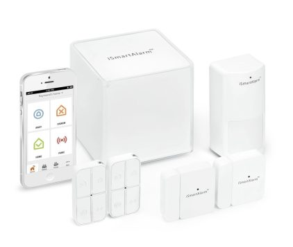 iSmartAlarm iSA3 Preferred Package Home Security System (white)-sale-01