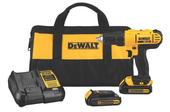 DCD771C2I-DeWALT 20V MAX Li-Ion 1:2%22 Compact Drill Driver Kit