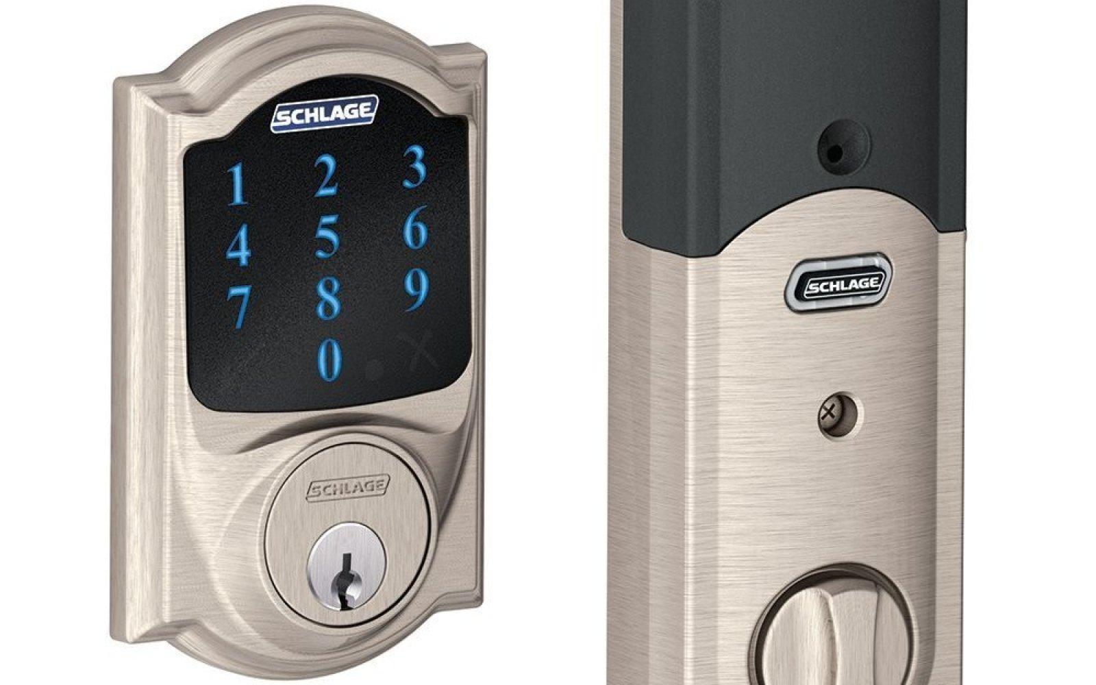 Home: Schlage Touchscreen Deadbolt $154 (orig. $431), Shark Ultralight upright vac $169 (orig. $200), kitchen items, more