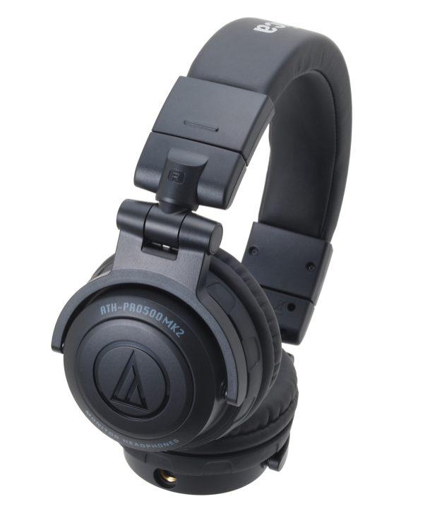 Audio-Technica ATH-PRO500 Mark II Professional DJ Monitor Headphones-02