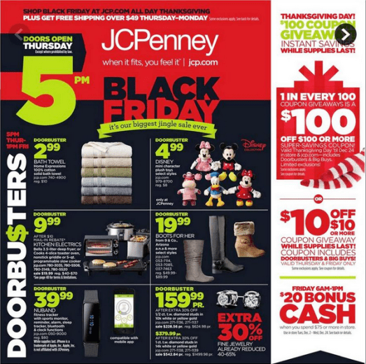 JC Penney Black Friday 2014-ad leak