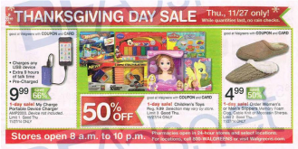 Walgreens Black Friday 2014-ad leak