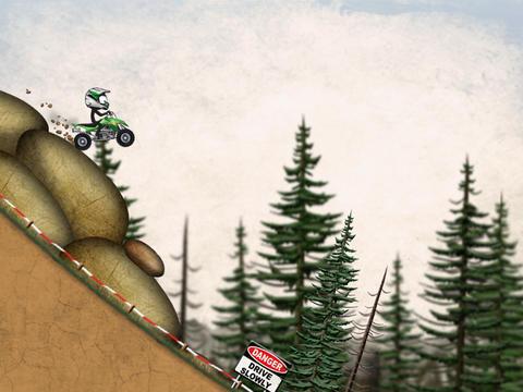 Stickman Downhill Moto