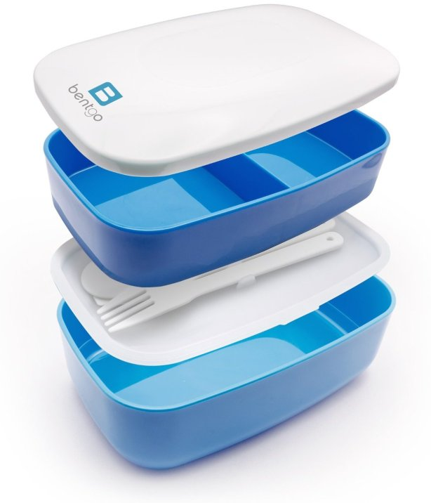 Bentgo All-in-One Stackable Lunch:Bento Box set in multiple colors-sale-01